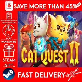 Cat Quest II (STEAM GIFT) 🎁🎁🎁 (get a bonus game 🎮 and a discount 💵 for the next purchase)