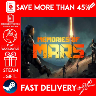 MEMORIES OF MARS (STEAM GIFT)🎁🎁🎁 (get a bonus game 🎮 and a discount 💵 for the next purchase)