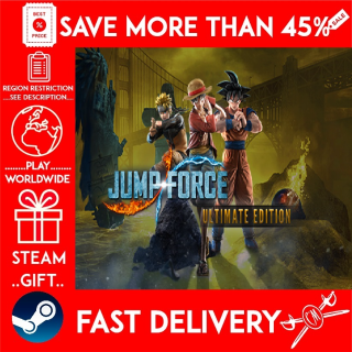 JUMP FORCE Ultimate Edition (STEAM GIFT)🎁🎁🎁 (get a discount 💵 for the next purchase)