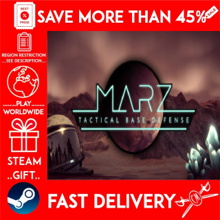 MarZ: Tactical Base Defense (STEAM GIFT)🎁🎁🎁 (get a bonus game 🎮 and a discount 💵 for the next purchase)