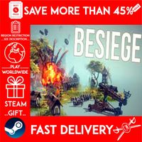Besiege (STEAM GIFT) 🎁🎁🎁 (get a bonus game 🎮 and a discount 💵 for the next purchase)