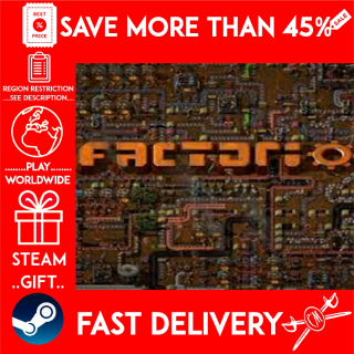 Factorio (STEAM GIFT)🎁🎁🎁 (get a bonus game 🎮 and a discount 💵 for the next purchase)