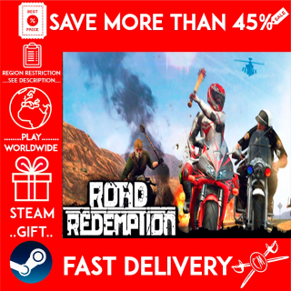 Road Redemption (STEAM GIFT)🎁🎁🎁 (get a bonus game 🎮 and a discount 💵 for the next purchase)