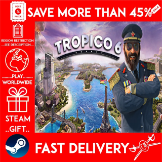Tropico 6 (STEAM GIFT)🎁🎁🎁 (get a bonus game 🎮 and a discount 💵 for the next purchase)