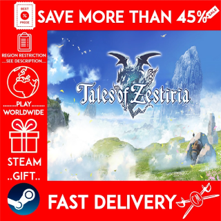 Tales of Zestiria (STEAM GIFT) 🎁🎁🎁 (get a bonus game 🎮 and a discount 💵 for the next purchase)