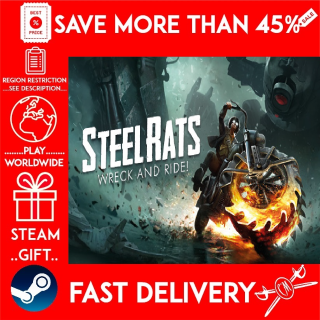 Steel Rats™ (STEAM GIFT)🎁🎁🎁 (get a bonus game 🎮 and a discount 💵 for the next purchase)