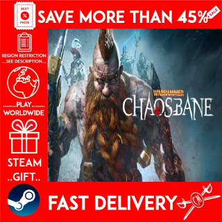 Warhammer: Chaosbane (STEAM GIFT) 🎁🎁🎁 (get a bonus game 🎮 and a discount 💵 for the next purchase)