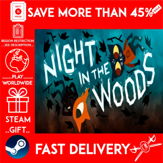 Night in the Woods (STEAM GIFT)🎁🎁🎁 (get a bonus game 🎮 and a discount 💵 for the next purchase)