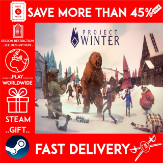 Project Winter (STEAM GIFT)🎁🎁🎁 (get a bonus game 🎮 and a discount 💵 for the next purchase)