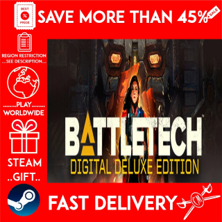 BATTLETECH Digital Deluxe Edition (STEAM GIFT)🎁🎁🎁 (get a bonus game 🎮 and a discount 💵 for the next purchase)