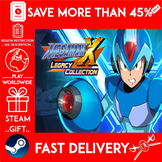 Mega Man X Legacy Collection (STEAM GIFT)🎁🎁🎁 (get a bonus game 🎮 and a discount 💵 for the next purchase)