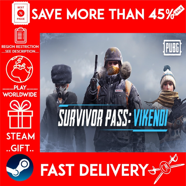 PLAYERUNKNOWN'S BATTLEGROUNDS / PUBG Survivor Pass: Vikendi ❗DLC