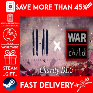 11-11 Memories Retold War Child Charity ❗DLC❗ (STEAM GIFT)🎁🎁🎁 (get a discount 💵 for the next purchase)