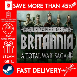Total War Saga: Thrones of Britannia (STEAM GIFT)🎁🎁🎁 (get a bonus game 🎮 and a discount 💵 for the next purchase)