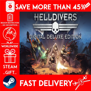 HELLDIVERS™ Digital Deluxe Edition (STEAM GIFT) 🎁🎁🎁 (get a discount 💵 for the next purchase)