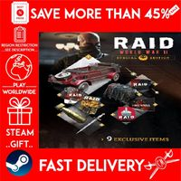 RAID: World War II Special Edition (STEAM GIFT) 🎁🎁🎁 (get a bonus game 🎮 and a discount 💵 for the next purchase)