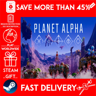 PLANET ALPHA (STEAM GIFT)🎁🎁🎁 (get a bonus game 🎮 and a discount 💵 for the next purchase)