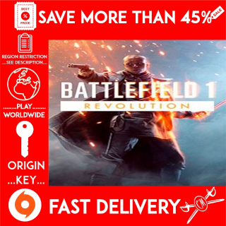 BATTLEFIELD 1 REVOLUTION (ORIGIN KEY) REGION FREE 🗝️🗝️🗝️