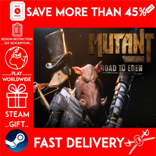 Mutant Year Zero: Road to Eden - Deluxe Edition (STEAM GIFT)🎁🎁🎁 (get a bonus game 🎮 and a discount 💵 for the next purchase)