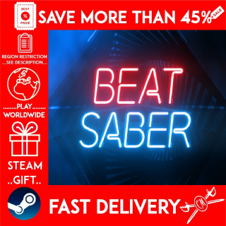 Beat Saber (STEAM GIFT) 🎁🎁🎁 (get a bonus game 🎮 and a discount 💵 for the next purchase)