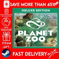 Planet Zoo Deluxe Edition (STEAM GIFT) 🎁🎁🎁 (get a bonus game 🎮 and a discount 💵 for the next purchase)
