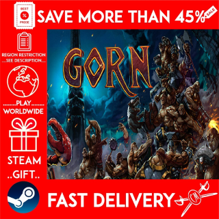 GORN (STEAM GIFT) 🎁🎁🎁 (get a bonus game 🎮 and a discount 💵 for the next purchase)