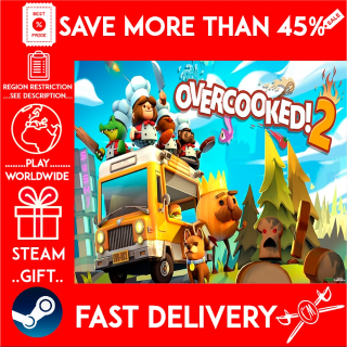 Overcooked! 2 (STEAM GIFT)🎁🎁🎁 (get a bonus game 🎮 and a discount 💵 for the next purchase)