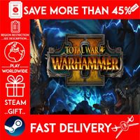 Total War: WARHAMMER II (STEAM GIFT) 🎁🎁🎁 (get a bonus game 🎮 and a discount 💵 for the next purchase)