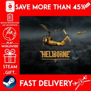 Heliborne (STEAM GIFT)🎁🎁🎁 (get a bonus game 🎮 and a discount 💵 for the next purchase)