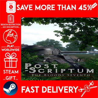 Post Scriptum (STEAM GIFT)🎁🎁🎁 (get a bonus game 🎮 and a discount 💵 for the next purchase)