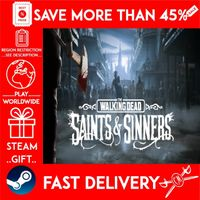 The Walking Dead: Saints & Sinners Standard Edit (STEAM GIFT) 🎁🎁🎁 (get a bonus game 🎮 and a discount 💵 for the next purchase)