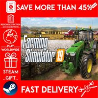 Farming Simulator 19 (STEAM GIFT)🎁🎁🎁 (get a bonus game 🎮 and a discount 💵 for the next purchase)