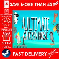 Ultimate Chicken Horse (STEAM GIFT)🎁🎁🎁 (get a bonus game 🎮 and a discount 💵 for the next purchase)
