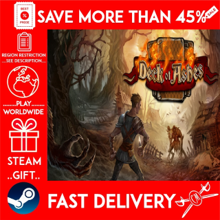 Deck of Ashes (STEAM GIFT) 🎁🎁🎁 (get a bonus game 🎮 and a discount 💵 for the next purchase)