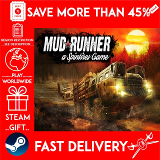 Spintires: MudRunner (STEAM GIFT)🎁🎁🎁 (get a bonus game 🎮 and a discount 💵 for the next purchase)