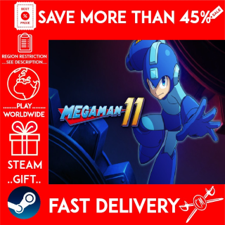 Mega Man 11 (STEAM GIFT)🎁🎁🎁 (get a bonus game 🎮 and a discount 💵 for the next purchase)