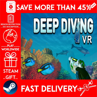 Deep Diving VR (STEAM GIFT) 🎁🎁🎁 (get a bonus game 🎮 and a discount 💵 for the next purchase)
