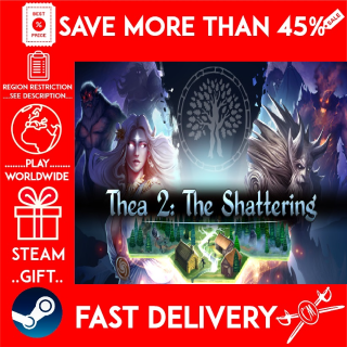 Thea 2: The Shattering (STEAM GIFT)🎁🎁🎁 (get a bonus game 🎮 and a discount 💵 for the next purchase)