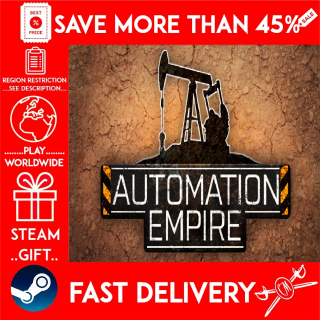 Automation Empire (STEAM GIFT) 🎁🎁🎁 (get a bonus game 🎮 and a discount 💵 for the next purchase)