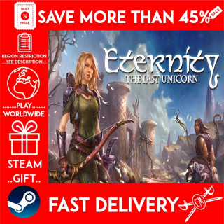 Eternity: The Last Unicorn (STEAM GIFT)🎁🎁🎁 (get a bonus game 🎮 and a discount 💵 for the next purchase)