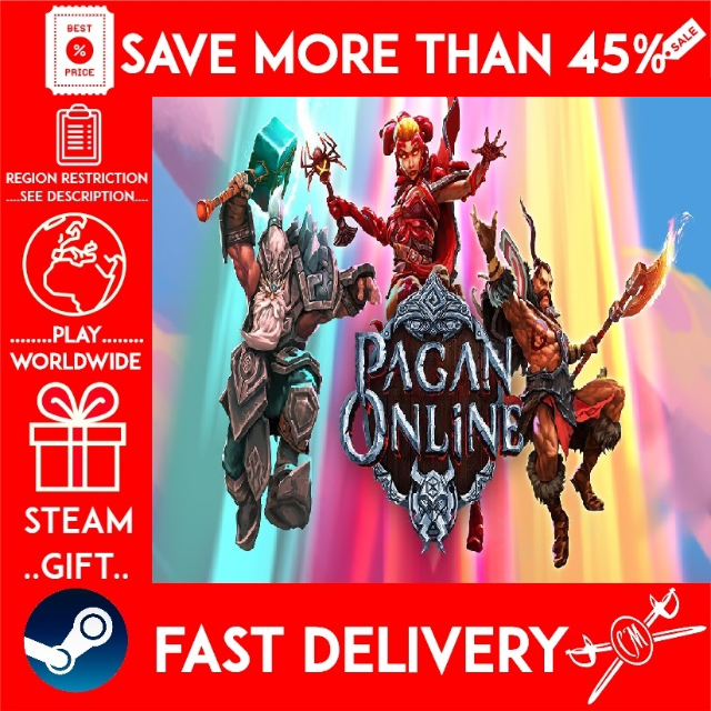 Pagan Online (STEAM GIFT) (get a bonus game and a