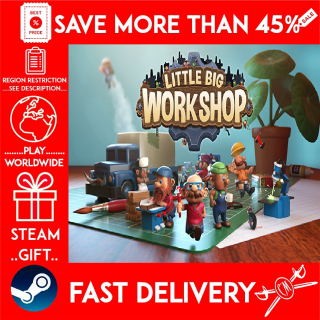 Little Big Workshop (STEAM GIFT) 🎁🎁🎁 (get a bonus game 🎮 and a discount 💵 for the next purchase)