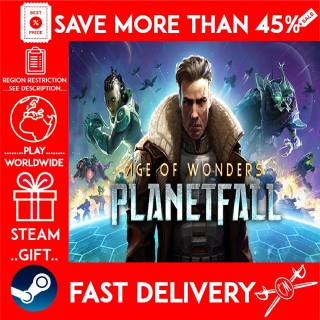 Age of Wonders: Planetfall (STEAM GIFT) 🎁🎁🎁 (get a bonus game 🎮 and a discount 💵 for the next purchase)