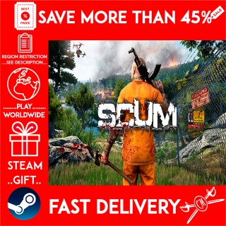 SCUM (STEAM GIFT)🎁🎁🎁 (get a bonus game 🎮 and a discount 💵 for the next purchase)