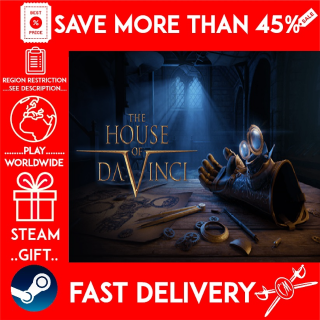The House of Da Vinci (STEAM GIFT)🎁🎁🎁 (get a bonus game 🎮 and a discount 💵 for the next purchase)