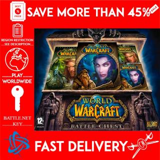 World of Warcraft Battle Chest  / WOW / (BATTLE.NET KEY) REGION US  🗝️🗝️🗝️