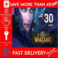 World of Warcraft Time Card 30 Days (US)