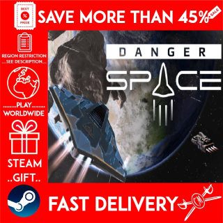 DangerSpace (STEAM GIFT) 🎁🎁🎁 (get a bonus game 🎮 and a discount 💵 for the next purchase)
