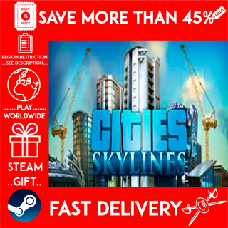 Cities: Skylines Deluxe Edition (STEAM GIFT)🎁🎁🎁 (get a bonus game 🎮 and a discount 💵 for the next purchase)