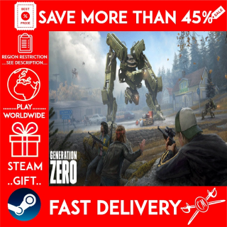 Generation Zero (STEAM GIFT)🎁🎁🎁 (get a bonus game 🎮 and a discount 💵 for the next purchase)